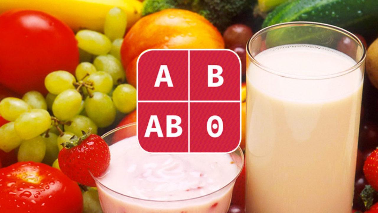 dieta del gruppo sanguigno a positivo menu settimanale