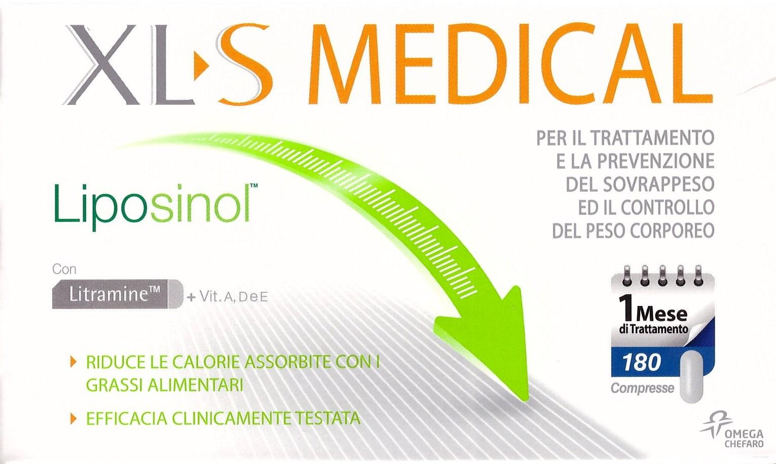 XLS Medical Liposinol: cos'è, controindicazioni e opinioni