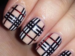 nail-art-tartan