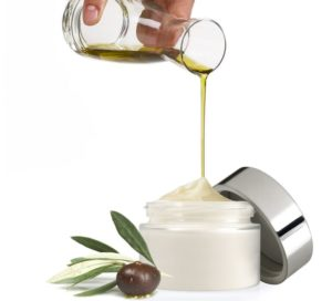 olio d'oliva crema viso