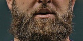 cura barba lunga