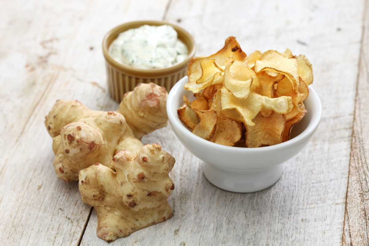 topinambur chips