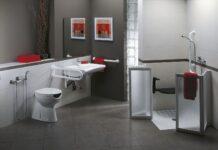 bagno dipendenza domestica disabili