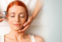 Trattamento ossigenoterapia viso