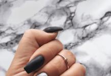 unghie effetto marmo